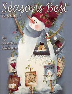 I have this book by Sandra Malone and I refer to it many times to paint Snowpeople.