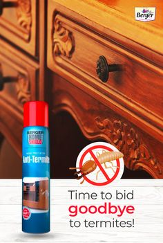 We are thrilled to bring a highly effective and easy to use solution against termites and borers. Spray Berger iPaint DIY Anti Termite Wood Protektor on the infected surface for termite-free furniture. #BergerPaintsIndia #PaintYourImagination Explore our products today!