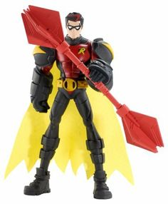 Batman Power Attack Fighting Bo Staff Robin by Mattel. $24.49. Kids will love creating new adventures with Batman. Use special moves to activate a huge weapon. Batman is ready for any mission, whatever the objective. Includes 1 figure, 1 weapon and a vill
