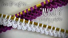 Beginner Knitting Patterns, Knitting Videos, Crochet Videos, Loom Knitting, Knitting Stitches, Knit Patterns, Free Knitting, Knit Wrap Pattern, Crochet Shrug Pattern