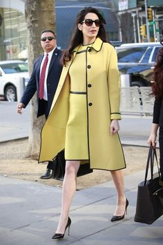 562630bb7beb 131 of Amal Clooney s most stylish moments  Trench Coat Outfit