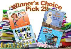 Win educational children's books!