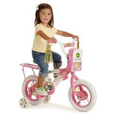 John Deere 12 in Girls Pink Bike