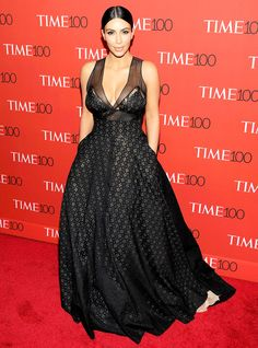 Kim Kardashian Takes the Plunge at the Time 100 Gala: See More of the Best-Dressed Stars on the Red Carpet!