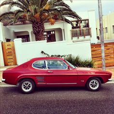 Ford Capri - had a 1970 model for a while.truly forgettable automobile (Not… Ford Motor Company, Ford Capri 1970, Gp F1, Mercury Capri, Parking, Car Ford, Old Cars, Motor Car, Vintage Cars