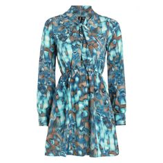 Watercolour Print Dress - Fuse Fashion Network - Fuse Fashion Network