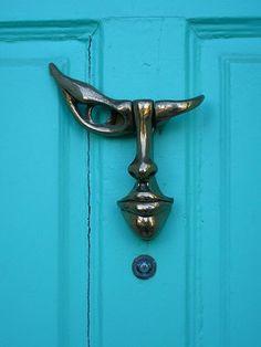 25 Cool and Unusual Door Knockers