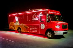 Freddy's Frozen Custard Food Truck built by Cruising Kitchens the largest mobile business manufacturer in the world! Food Truck - Mobile Business - Build a Food Truck Freddy's Frozen Custard, Mobile Food Trucks, Mobile Business, A Food, Building, Kitchens, Buildings, Kitchen, Cuisine