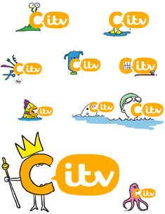 Don't love the new ITV brand as a whole but do really like the new CITV logo. Cute!