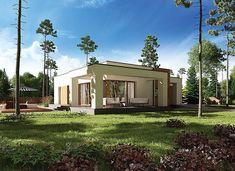 Zdjęcie projektu Murator M183f Bajeczny widok - wariant VI WAJ3784 Recreational Vehicles, House Plans, Pergola, Home And Garden, Outdoor Structures, Mansions, House Styles, Design, Home Decor