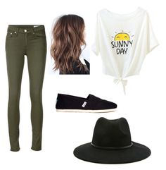 """Oh What A Beautiful Day"" by kmccusker16 on Polyvore featuring rag & bone/JEAN, TOMS and Forever 21"