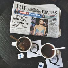 Before you launch yet another exciting day of London discovery, why not relax and sip comfortably your aromatic tea while perusing the morning paper at the Q Bar? Photo credit: very.beary via Instagram. Morning Papers, Restaurant Bar, Photo Credit, Discovery, Cocktails, Relax, Product Launch, London, Tableware