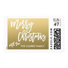 Personalized Christmas Stamp!  Zazzle.com #postage #custom #CuteChristmasCards
