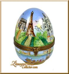 Magnificent Paris Monuments Collection Limoges Box by Beauchamp Limoges www.LimogesBoxCollector.com
