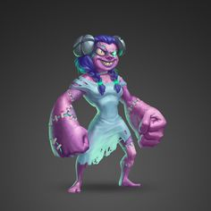 Lady patchwork evolves on Behance