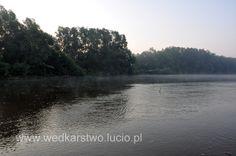 The San river in Poland