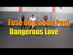 Fuse Odg, Sean Paul - Dangerous Love un Buen ritmo AFROBEAT esta música tiene 128(BPM) es buena para mantener la energía de tus alumnos se las recomiendo