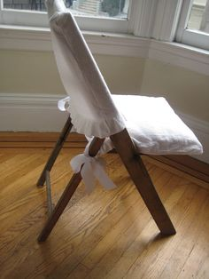 wooden folding chair cover.
