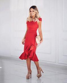 Musa do estilo: Bianca Petry - Guita Moda Cute Dresses, Short Dresses, Girls Dresses, Prom Dresses, Summer Dresses, Evening Outfits, Evening Dresses, Girl Fashion, Fashion Outfits