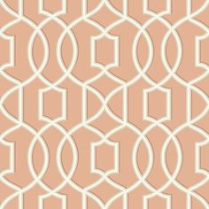 2625-21816 Coral Trellis - Quantum - Symetrie Wallpaper by A - Sreet Prints