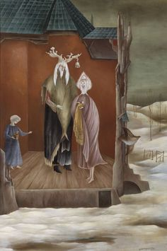 Le Bon Roi Dagobert, 1948 - Leonora Carrington