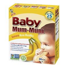 HotKid Baby MumMum Rice Rusks Banana 24 pieces Pack of 6 * Read more  at the image link.Note:It is affiliate link to Amazon.