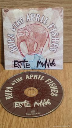 RUPA & THE APRIL FISHES. ESTE MUNDO. CD-PROMO / CUMBANCHA-2009 / 15 TEMAS / CALIDAD LUJO.