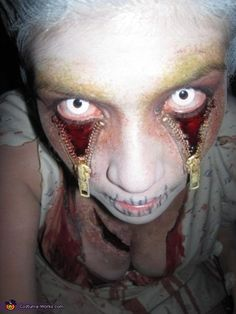 Zipper Eyes Costume <3 2012 Halloween Costume Contest