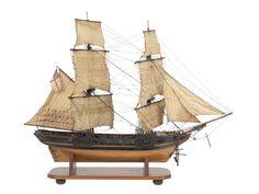 Fighting vessel; Brig; 14 guns - National Maritime Museum