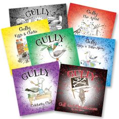 Gully childrens story books from The Gullery #PortIsaac