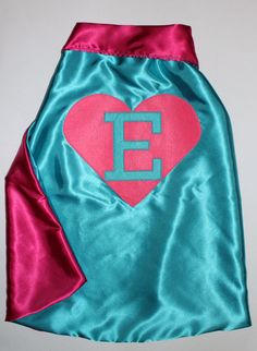 Little girls need super hero capes too.  =)
