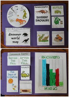 MFW K - D is for Dinosaur - More than just a dinosaur unit study - covers floods, fossils and the ice age, too!