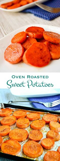 Soft and creamy on the inside with the spice of cinnamon and ginger on the outside, these roasted sweet potatoes are a must for your holiday table.