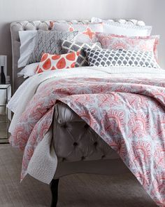 Mahzar+Bedding+by+John+Robshaw+at+Neiman+Marcus.