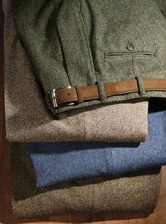 Lambswool Donegal Trousers