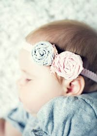Little Red Wagon Photography: LRW Creative: DIY Baby Headband and Giveaway!