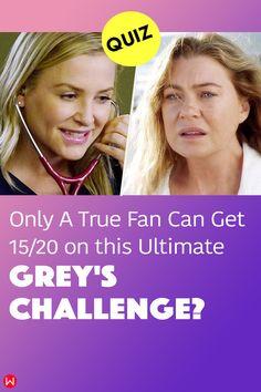 Fun trivia questions about the ABC television show Grey's Anatomy, with fan favorites about Meredith Grey and Derek Shepherd. #greys #GreysAnatomy #greysquiz #greysnostalgia #greysAnatomyTrivia #mcdreamy #izziestevens #greystragedies #greysdeath #greysanatomyscene
