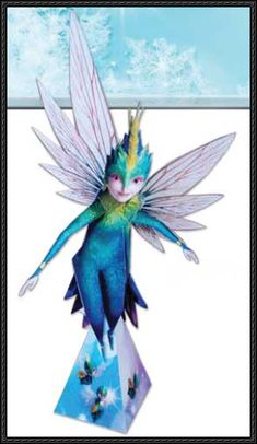 This papercraft is Tooth (Tooth Fairy), based on the animeted film Rise of the Guardians, the paper craft is created by Rise of the Guardians Original Webs Origami Tooth, Papercraft Download, Rise Of The Guardians, Tooth Fairy, Tinkerbell, Teeth, Disney Characters, Fictional Characters, Paper Crafts