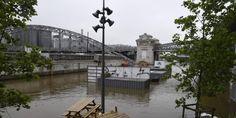 La Seine est montée jusqu'à 6,10 mètres, son record depuis 30