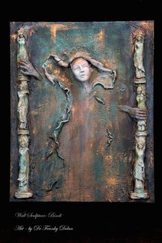Bindi Amazing Wall Sculpture by Award Winning Fae by faefactory