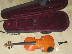 """Woodstock Music Collection 20"""" Violin With Hard Case Starting bid:US $70.00 Buy It Now Price:US $175.00"""