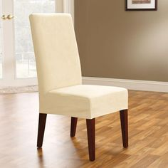 Dining Chair Slip Covers  Slip Cover Genius  Pinterest  Dining Best Large Dining Room Chair Covers Decorating Inspiration