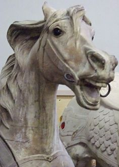 Carousel horse - late 19th-early 20th century
