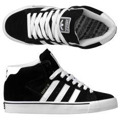 black skater hightops | Adidas