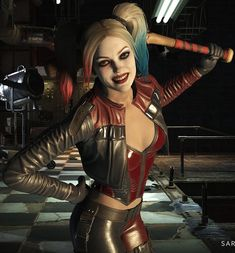 INJUSTICE 2. Harley Quinn.
