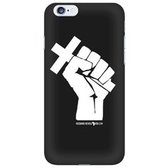 Husband Revolution Cross In Fist - Phone Case – Unveiled Wife Online Book Store
