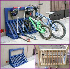 Bike Storage Solutions DIY Bike Rack Storage Solutions-Wood Bicycle Rack with H. Bike Storage Solutions DIY Bike Rack Storage Solutions-Wood Bicycle Rack with Hamlet Hook Tutorial Pallet Bike Racks, Bicycle Storage Rack, Outdoor Bike Storage, Diy Bike Rack, Bicycle Rack, Garage Bike Rack, Wood Bike Rack, Diy Rack, Bicycle Helmet