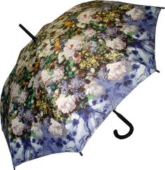 Full Size Renoir Floral Bouquet Umbrella, now on clearance for CAD$25
