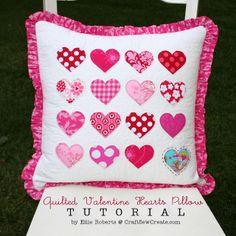 Cute heart pillow.