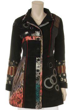 Black Long Sleeve Fully Lined Jacket